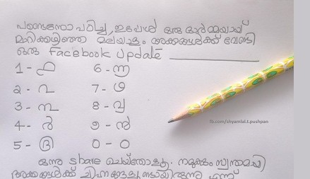Malayalam numbers