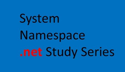 System namespace  ( .net Study Guide)