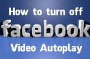 Facebook Video Auto play