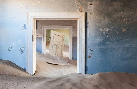 Kolmanskop, story of the the Ghost Town