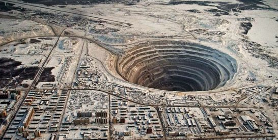Mir Diamond Mine